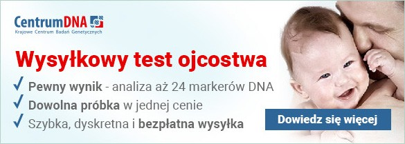 wysyłkowy test ojcostwa