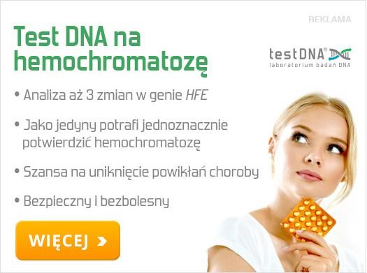 hemochromatoza reklama
