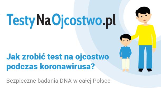 test na ojcostwo podczas koronawirusa